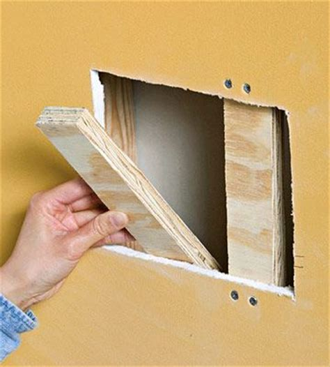 How To Fix A Hole In Your Drywall  Diy Crafts For The Home