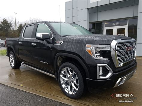 2019 Gmc Denali 1500 Hd by New 2019 Gmc 1500 Denali 4d Crew Cab In