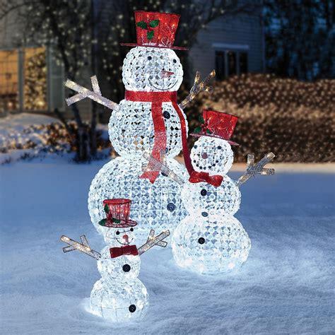 pc led christmas holiday lighted random twinkling snowman