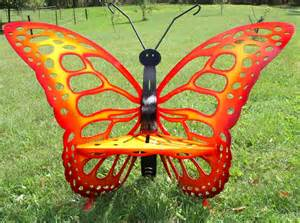 sun butterfly chair or throne creative metal