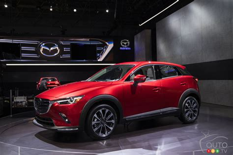 Update Motor Show 2018 : More Horses, G-vectoring For The Updated 2019 Mazda Cx-3