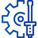 Process Icon Manufacturing Production Industrial Industry Engineer