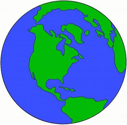 Globe Earth Clip Clipart Globes America United