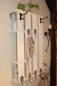 Garderobe Aus Palette : des entr es avec des palettes floriane lemari ~ Frokenaadalensverden.com Haus und Dekorationen