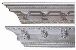 The simple Bradley Crown Molding is dressed up with