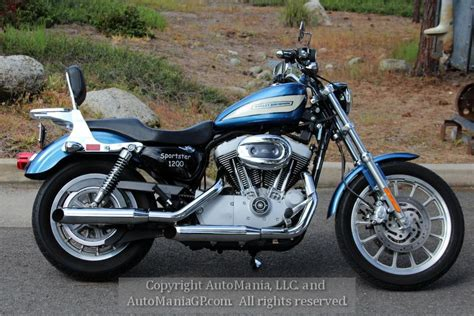 2005 Harley-davidson 1200 Sportster Roadster For Sale In
