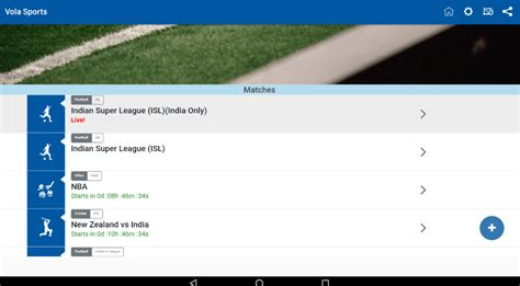 Vola Sports Live 6.2 Apk 2020-Android | Windows PC และ Mac ...