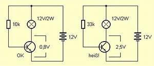 Transistor Basiswiderstand Berechnen : halbleiter berlastwarnung ~ Themetempest.com Abrechnung