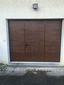 Porte Garage Sectionnelle Avec Portillon : porte de garage alliance menuiserie monfraix ~ Melissatoandfro.com Idées de Décoration