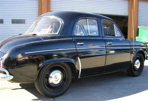 Renault Dauphine For Sale by Stored 44 Years 1961 Renault Dauphine Bring A Trailer