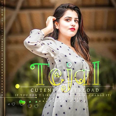 Cute Girl Tejal Name Inta Dp