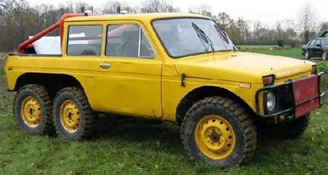6x6 Lada Niva Conversion