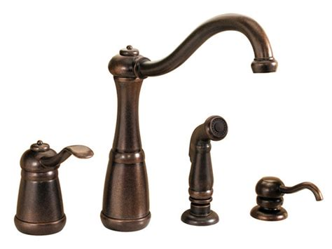 rustic kitchen faucets rustic bronze one handle kitchen faucet pp gt26 4nuu