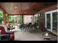 patio design ideas Covered Patio Ideas~Covered Patio Ideas And Pictures - YouTube