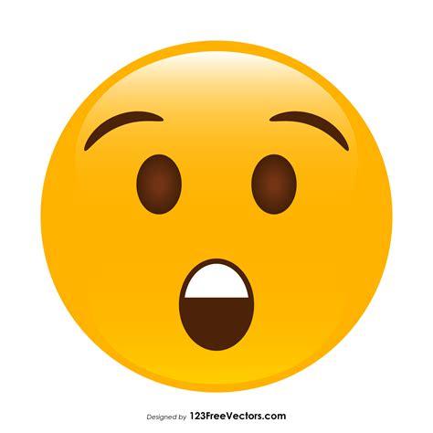 foto de Astonished Face Emoji Vector Download