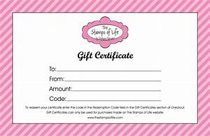 create your own certificate With make your own gift certificate template free