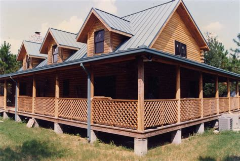 home plans with porches log home floor plans with wrap around porch
