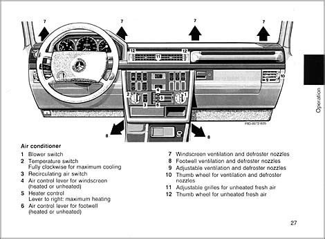 download car manuals pdf free 1998 mercedes benz sl class instrument cluster english version 1993 500ge g class 463 gelaendewagen owners manual and operating instructions