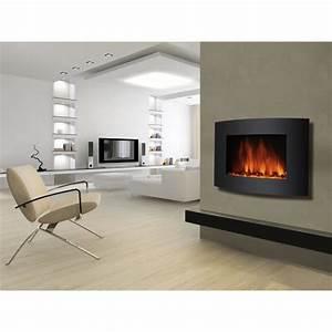 Cheminée Bois Design : cheminee moderne murale ~ Premium-room.com Idées de Décoration