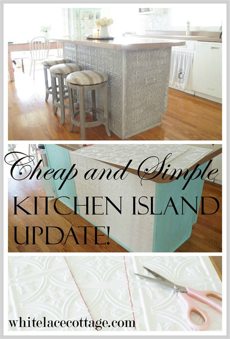 tin ceiling tiles in kitchen faux tin ceiling tiles kitchen island white lace cottage 8528