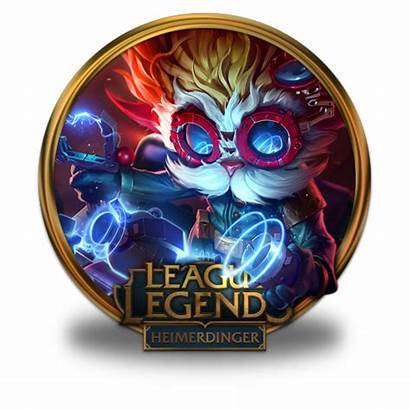 League Heimerdinger Icon Legends Icons Border Gold