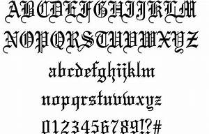 15 Medieval Fonts For Word Images - Italian Gothic Letters ...
