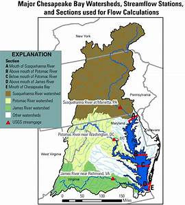 Freshwater Flow Into Chesapeake Bay