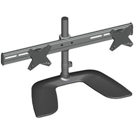 brateck free standing dual monitor stand officeworks