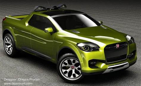 fiat sentiero concept study for a compact pick up truck