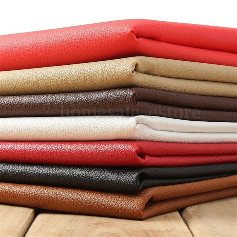 Car Upholstery Fabric by Pu Leather Fabric Solid Color Car Interior Upholstery Home