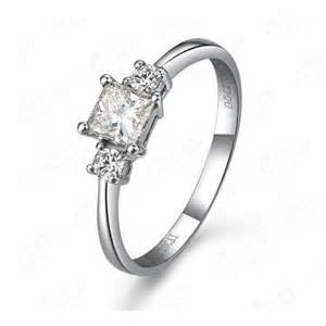 wedding rings on sale classic three princess cut engagement ring on sale jeenjewels