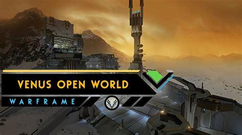 warframe venus open world zaw primary secondaries new