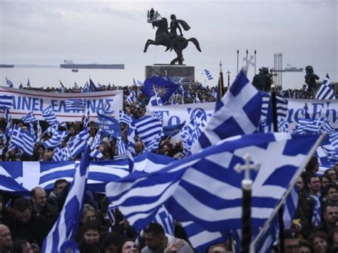 More than 100,000 Greeks Hold Mass Protest over 'Macedonia ...