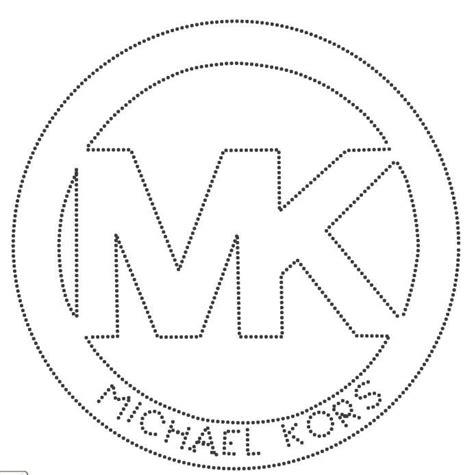 Kleurplaat Gucci Logo by Michael Kors Ss6 Piedras Logotipo De Ropa Bolsas De