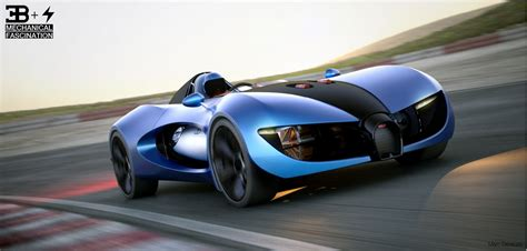 Future Cars Bugatti by Bugatti Type Zero Electric Sports Car Concept Electric