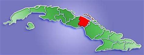 Ciego de Ávila Province Map, Cuba
