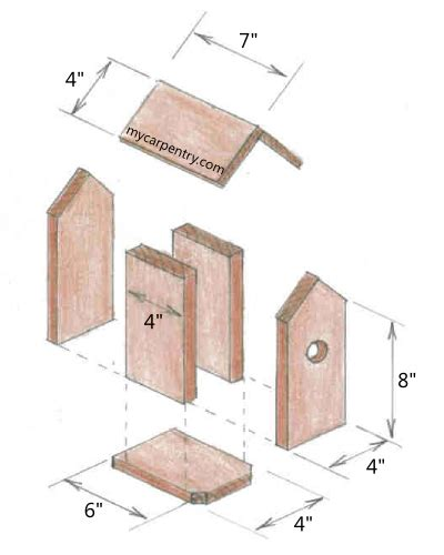 shed plan   barn birdhouse woodworking plan
