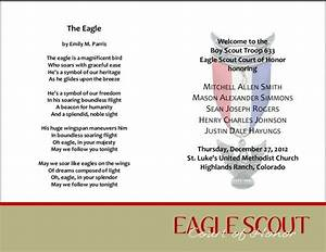 59 best images about bs eagle coh invites programs With eagle scout court of honor program template