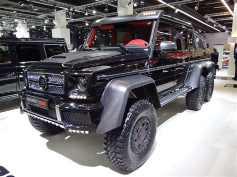 2013 Brabus B63s Based On The Mercedes-benz G63 Amg