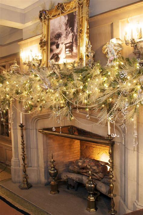 beautiful christmas mantels christmas decorating