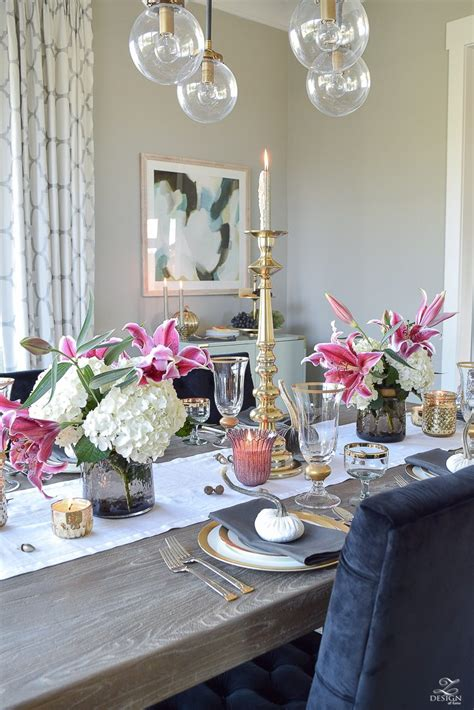thanksgiving tablescapes  give  reason