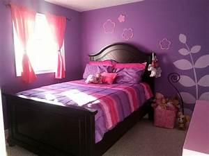 pink and purple girls room teenage girl bedroom paint With girls bedroom purple decorating ideas