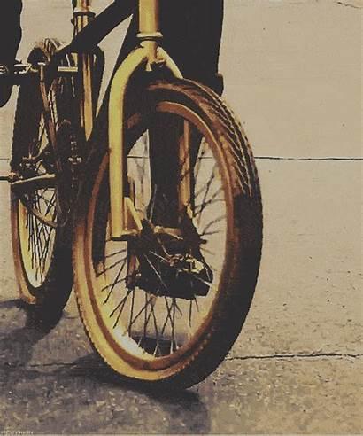 Gold Bmx Trinidad Bike Mine James Popped