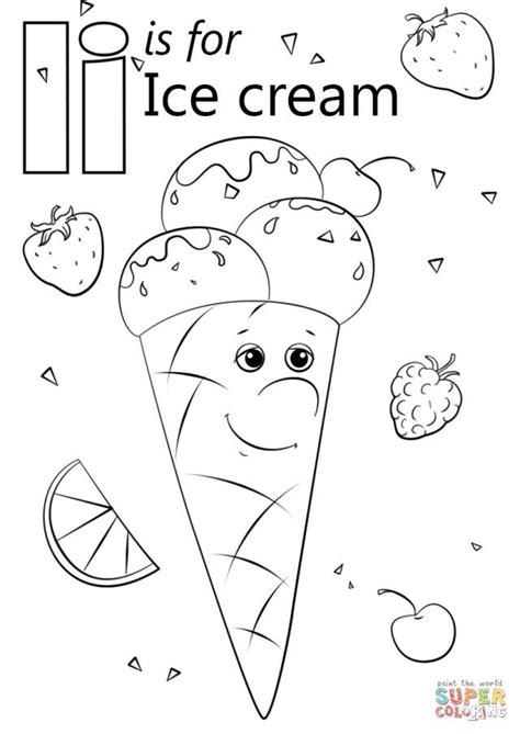 creative photo  ice cream coloring pages abc coloring pages preschool coloring pages