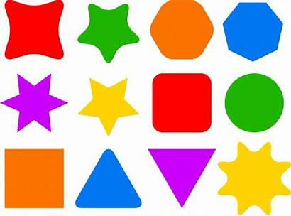 Shape Icons Icon Shapes Colourful Clip Clipart