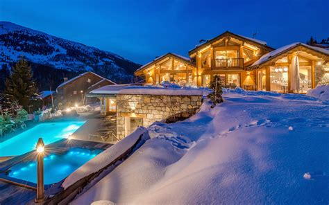 luxury ski chalet chalet mont tremblant meribel firefly collection