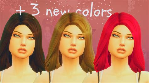 my sims 4 fluid hair for females by wildspit