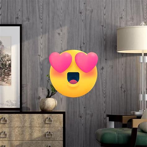 jual wallpaper sticker dinding foam brick kayu abu serat