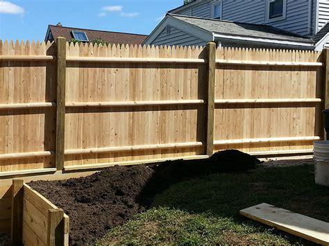 custom wood fences arbors  pergolas fence toppers
