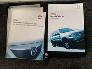 2005 Mazda Tribute Owners Manual Guide Book